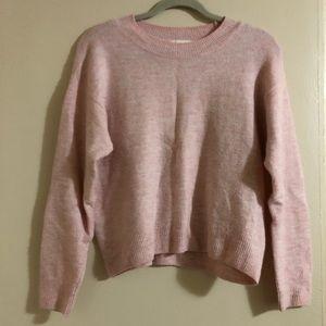 H&M light pink warm wool sweater!